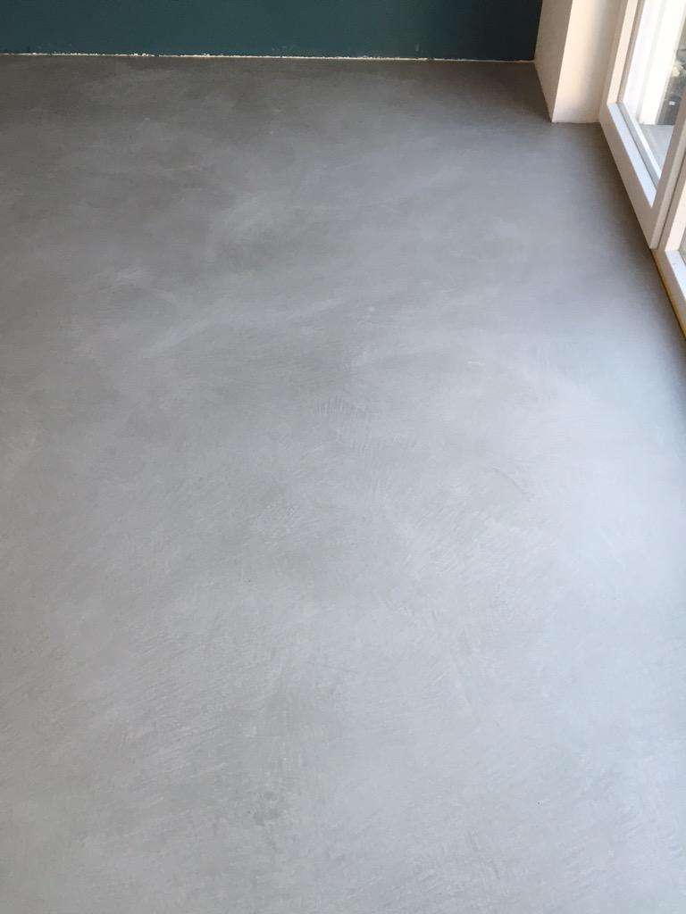 Wunderschön Fugenloser Fußboden Referenz Von Projekt Wiesbaden:130qm #boden Im #betonlook Harmonisch #stilvolles