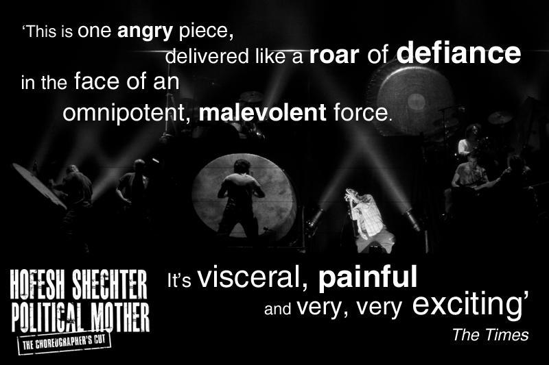 Political Mother: The Choreographer's Cut: 7-8 October at @O2academybrix. Tixs here: http://t.co/MJm9g8s3e7 http://t.co/03jYknZO8E