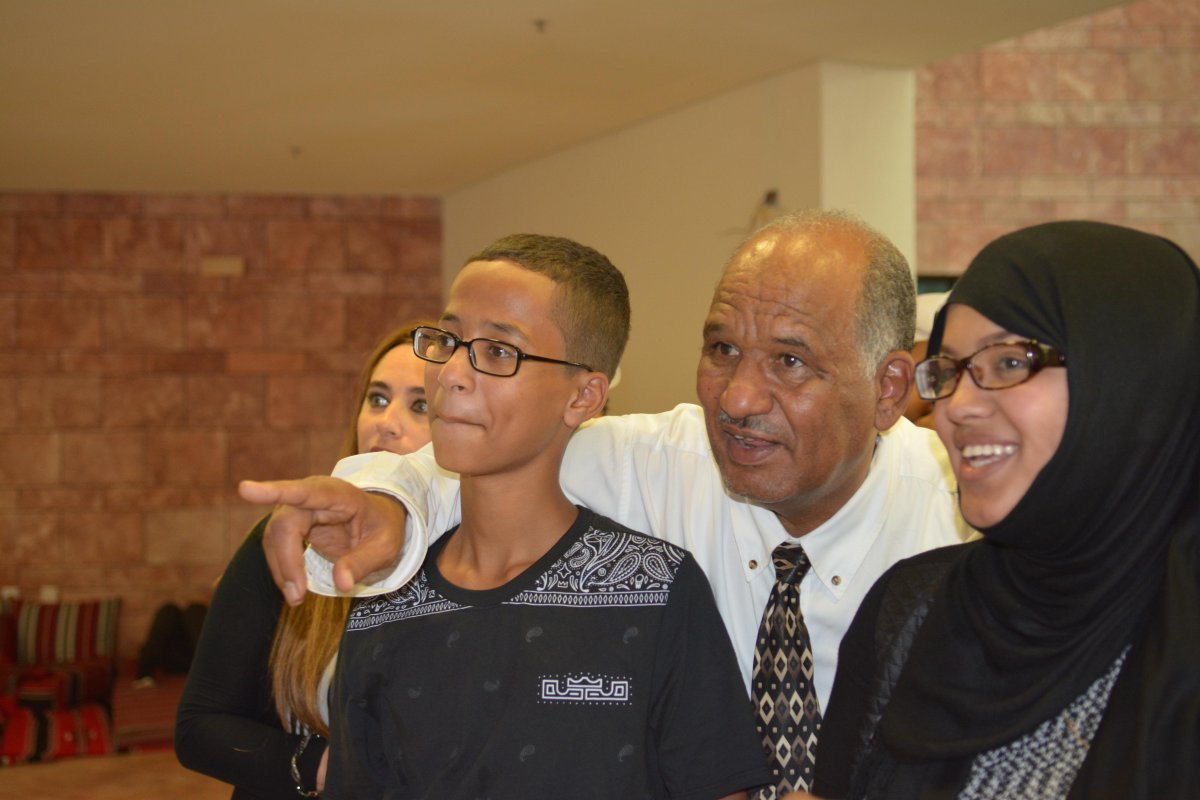 #AhmedMohamed was @TAMUQ today. View all the photos on our facebook page, https://t.co/soyzUUblXz #tamuq @QF http://t.co/jJY85MUb7k