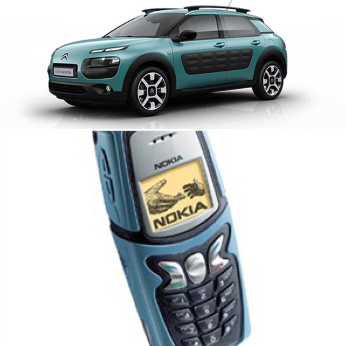 It was nice of @CitroenUK to carry on Nokia's legacy wasn't it? via @DMCSTK #C4Cactus #5210 http://t.co/8ymsWVmpbb