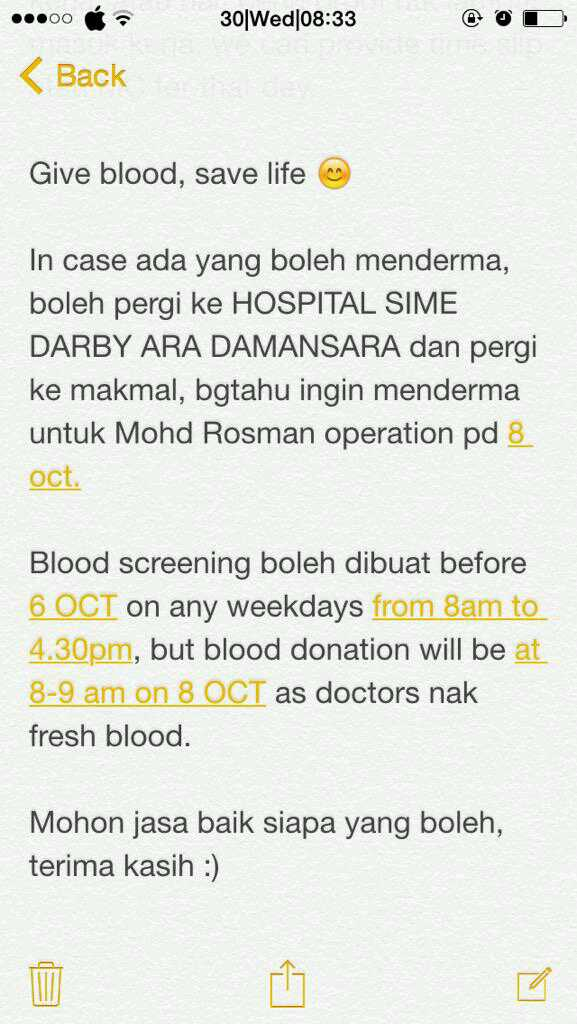 Ni details untuk anyone yang boleh tolong derma..help RT this too please http://t.co/vBClHxGNNT
