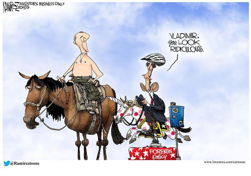 Image result for political cartoon ramirez