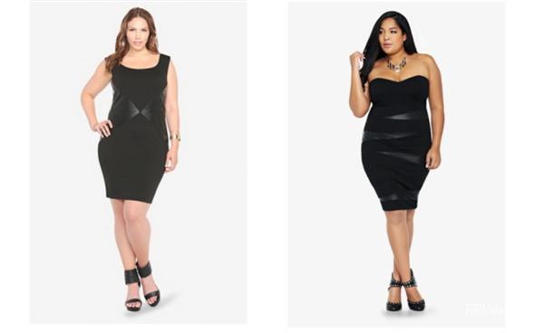 платье для полных женщин где выбрать в интернет магазине купить