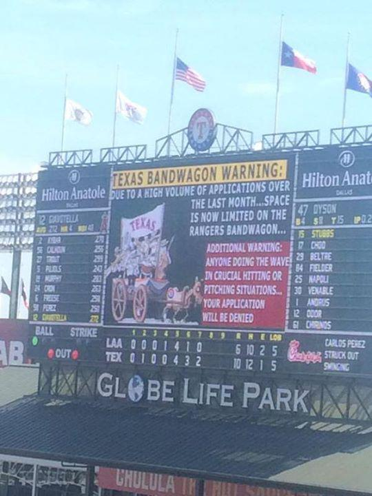 Even if you don't like the Rangers, you have to admit this is pretty awesome http://t.co/Il0N6HuwnA