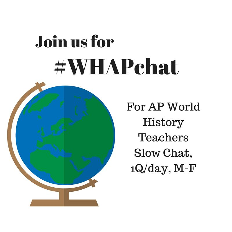 Thumbnail for #WHAPchat: Projects/Project Based Learning