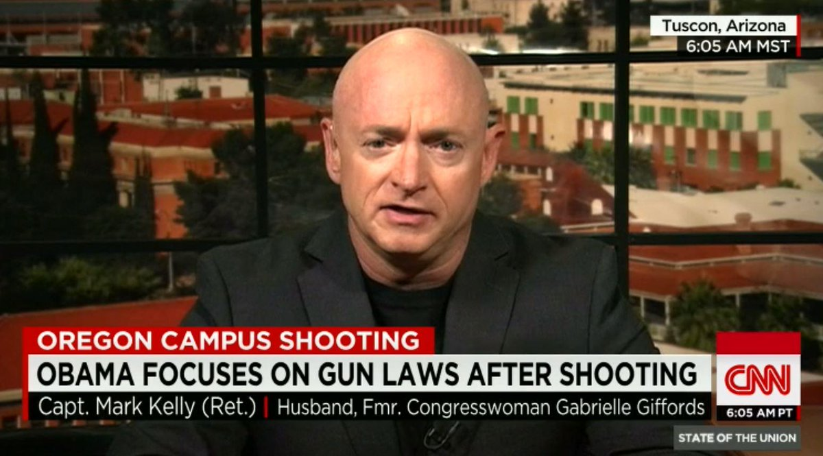 Mark Kelly can't name one law that would prevent mass shootings