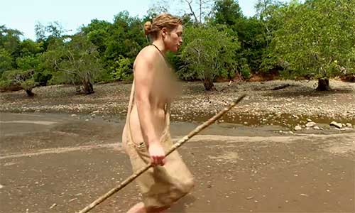 Kelly from naked and afraid nude pic