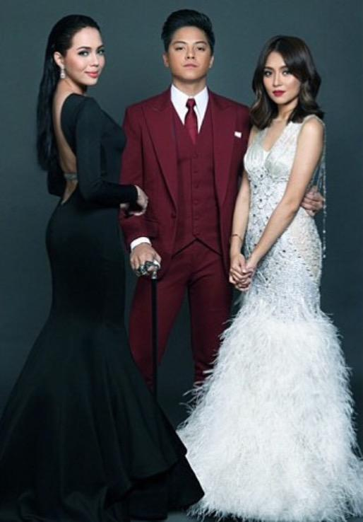 Kathryn Bernardo And Julia Montes And Daniel Padilla Sino Bet Mo? on...
