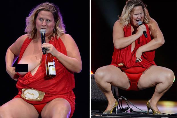 Big titty russian woman gets a sensuous 5