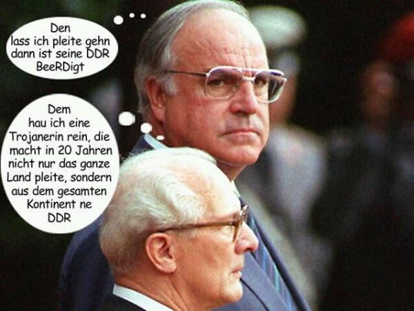 Bildergebnis für merkel honecker kohl