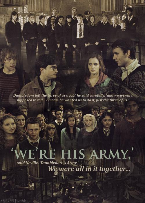 Harry Potter Quotes On Twitter Were His Army Said Neville