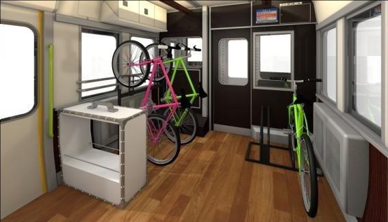 JR西日本の新観光列車はサイクルスペースを設置予定 http://t.co/tpodqmhZtg http://t.co/9vsqCOFMeJ