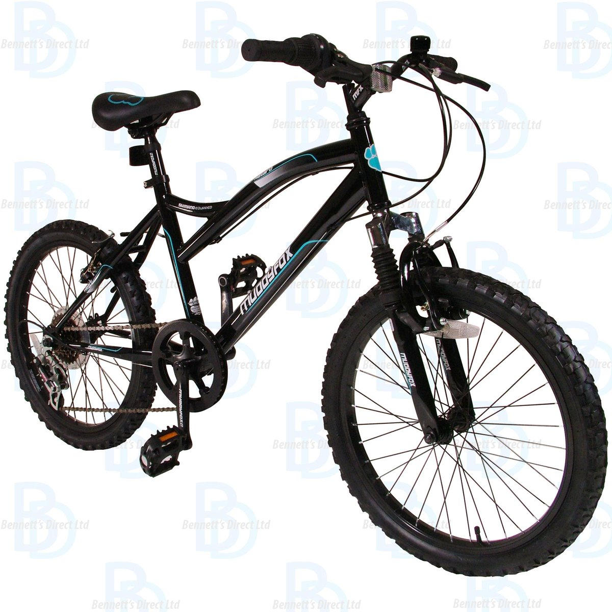 LIOOBO Kids Bike Bell Children Bicycle Ring Sunflower Shaped Bike Horny Blue