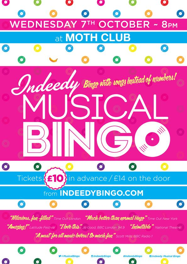 This week @MusicalBingo take over Wednesday's Bingotheque! Tickets selling fast.  http://t.co/30g7D1Q7Fn http://t.co/dRkkL3MTSX