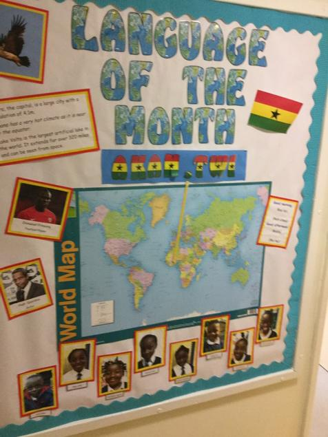 Modern Language Classroom Displays ~ Freshwaters academy on twitter quot language of the month for