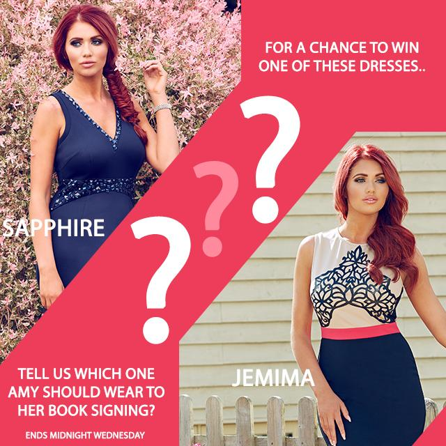RT @AmyCCollection: COMPETITION! Tell us which dress @MissAmyChilds should wear for a chance to win it! RT this & comment which one now! ht…