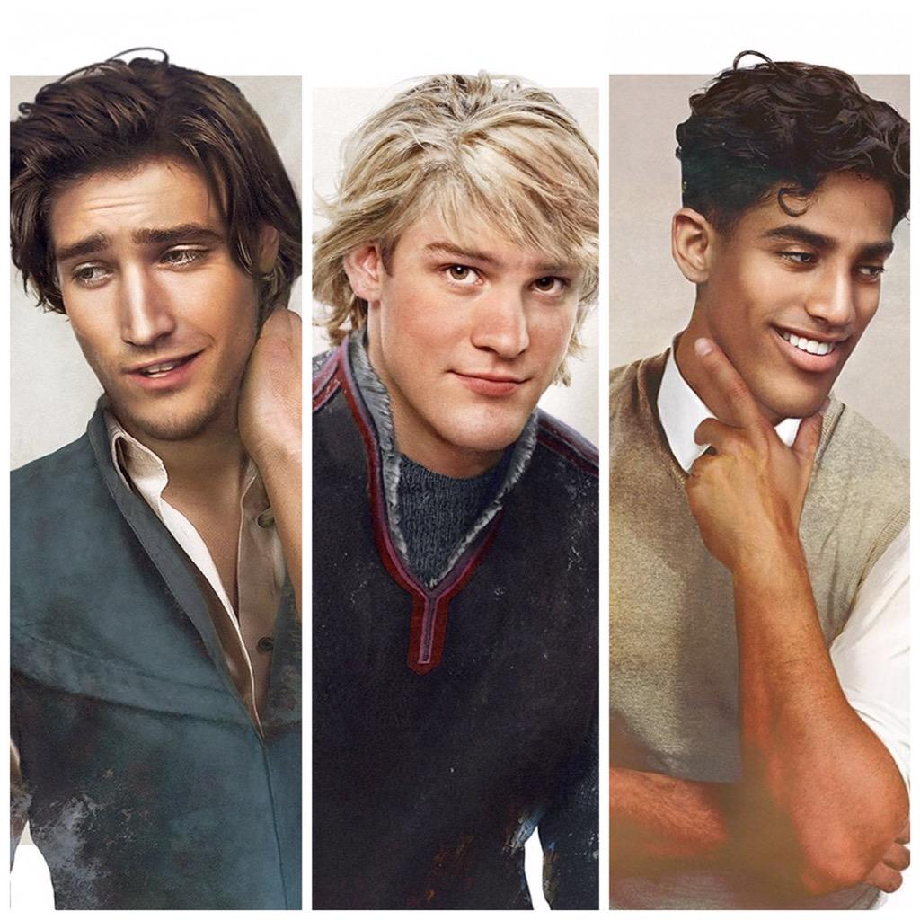 """PHOTOS: Flynn, Naveen & Kristoff added to """"Real Life"""" Disney guys collection by Jirka Design - http://t.co/ikvZo9WLML http://t.co/Im6gEBusVw"""