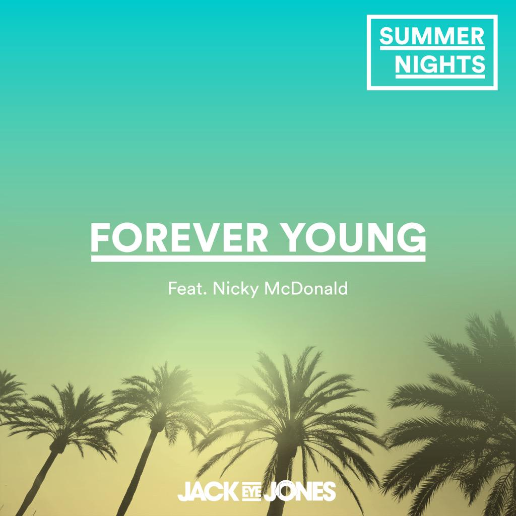 Not long to go until @jackeyejones album #SummerNights is released inc a track featuring me! Pre-order on iTunes! http://t.co/M5QjNH16vW