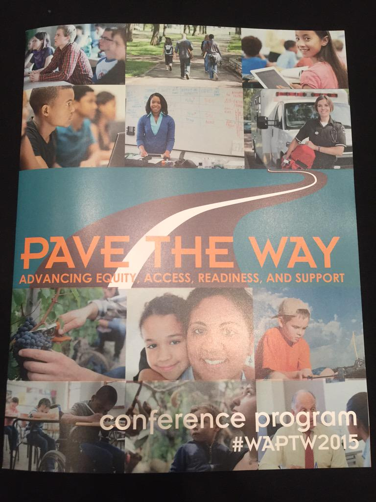 We are pleased to be attending the @WSACouncil's Pave the Way Conference! #waedu #WAPTW2015 http://t.co/vCseZzC6FO