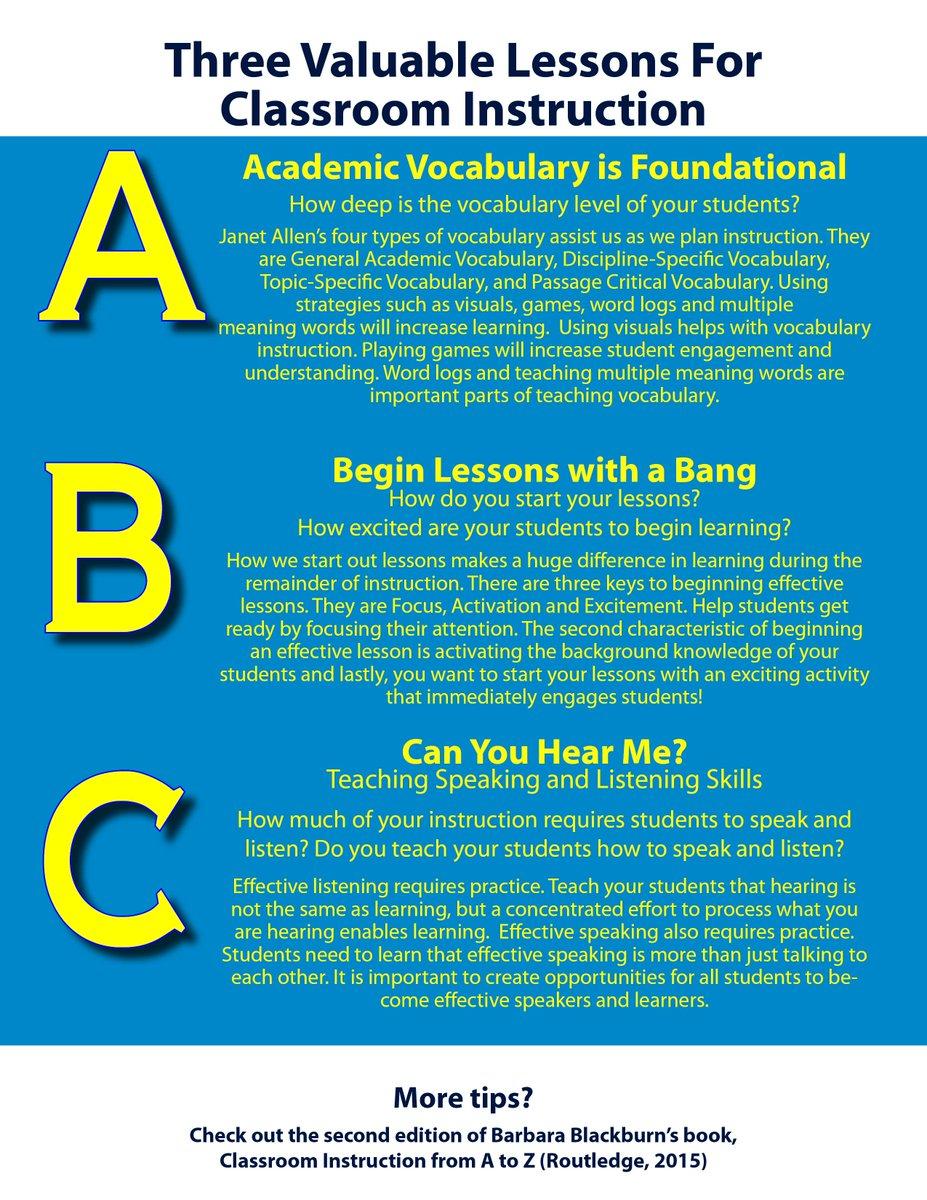 Happy World Teachers' Day! Retweet this to win a copy of Classroom Instruction A-Z now thru 10/9 #EOEteacherday http://t.co/R6hfjyRLgo