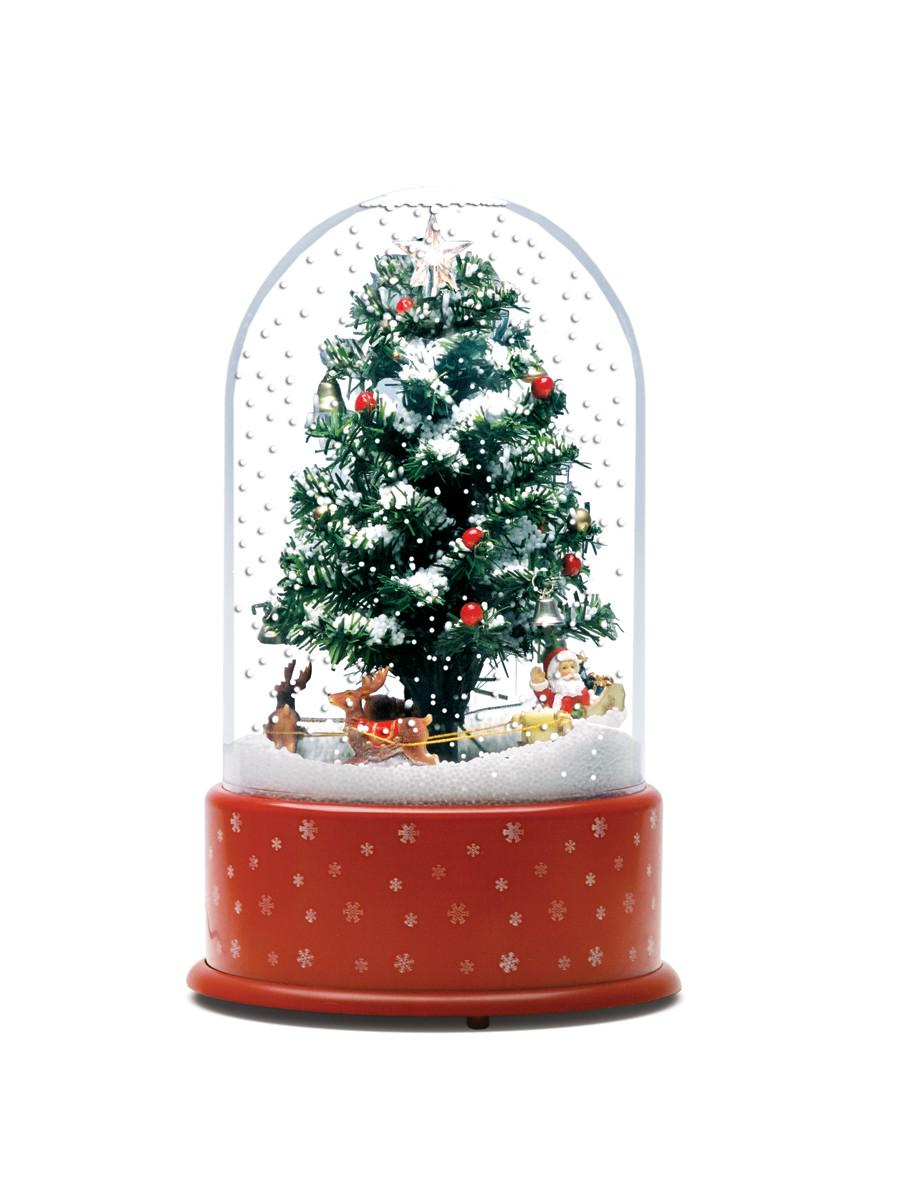follow this link to shop now httpwwwclintoncardscoukchristmas christmas trees and decorations 2dome snowing tree santa friends pictwittercom - Snowing Christmas Decoration