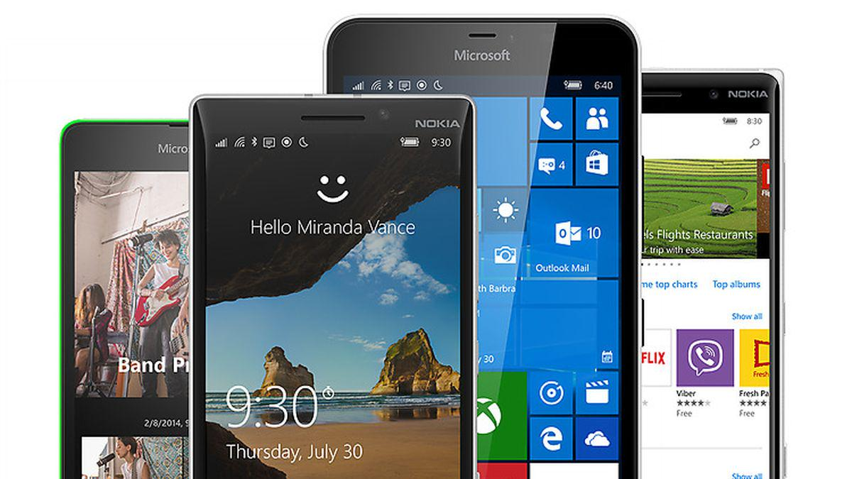 Windows 10 phones at t 2015 - Microsoft S New Windows Phones Are Free Of The Expectations Of The Windows Phone Http Www Theverge Com 2015 10 5 9453471 Microsoft Lumia Windows 10 Phone
