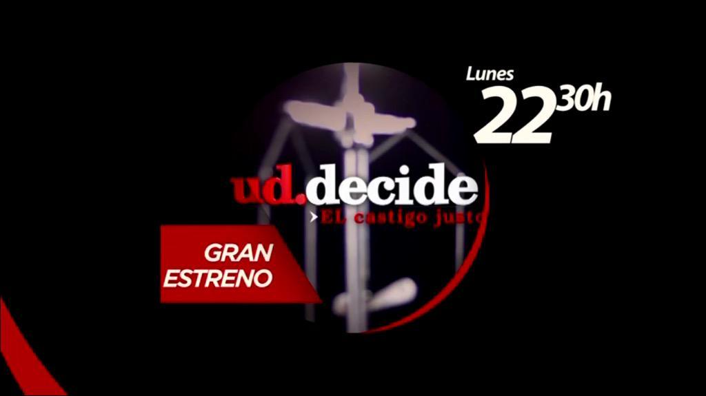 LU 05 OCT / 22:30 / CHV ¿Cuál es el castigo justo por un delito? Con @cg_arroyo por @chilevision   @UdDecideCHV http://t.co/HCf6i2WLzK