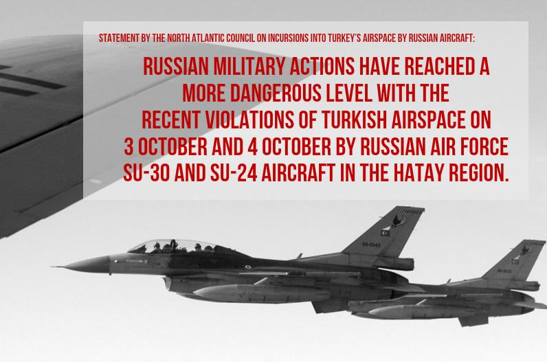 airspace incursions Allies strongly protest these violations of turkish sovereign airspace, and condemn these incursions into and violations of nato airspace allies also note the.