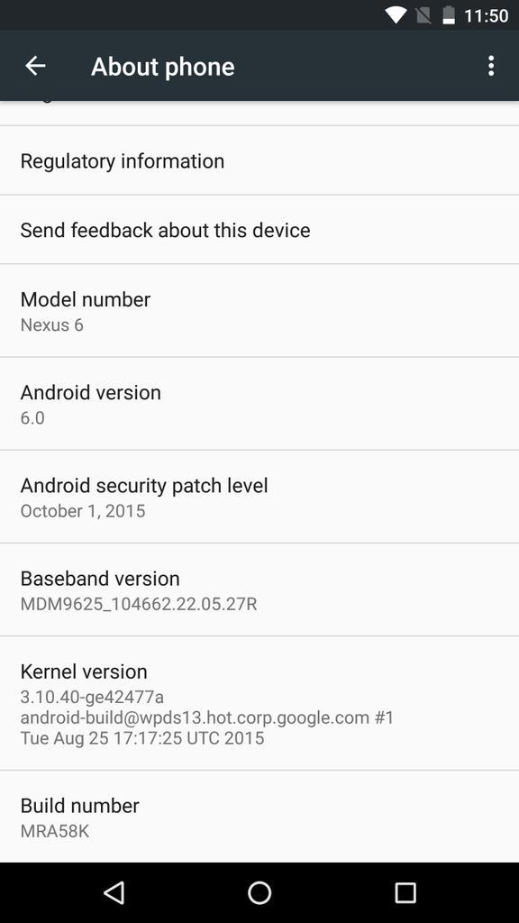 Oh Hi Android Marshmallow http://t.co/pNVv9l4AHq