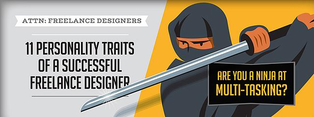11 Personality Traits of a Successful Freelance Designer via @JustCreative