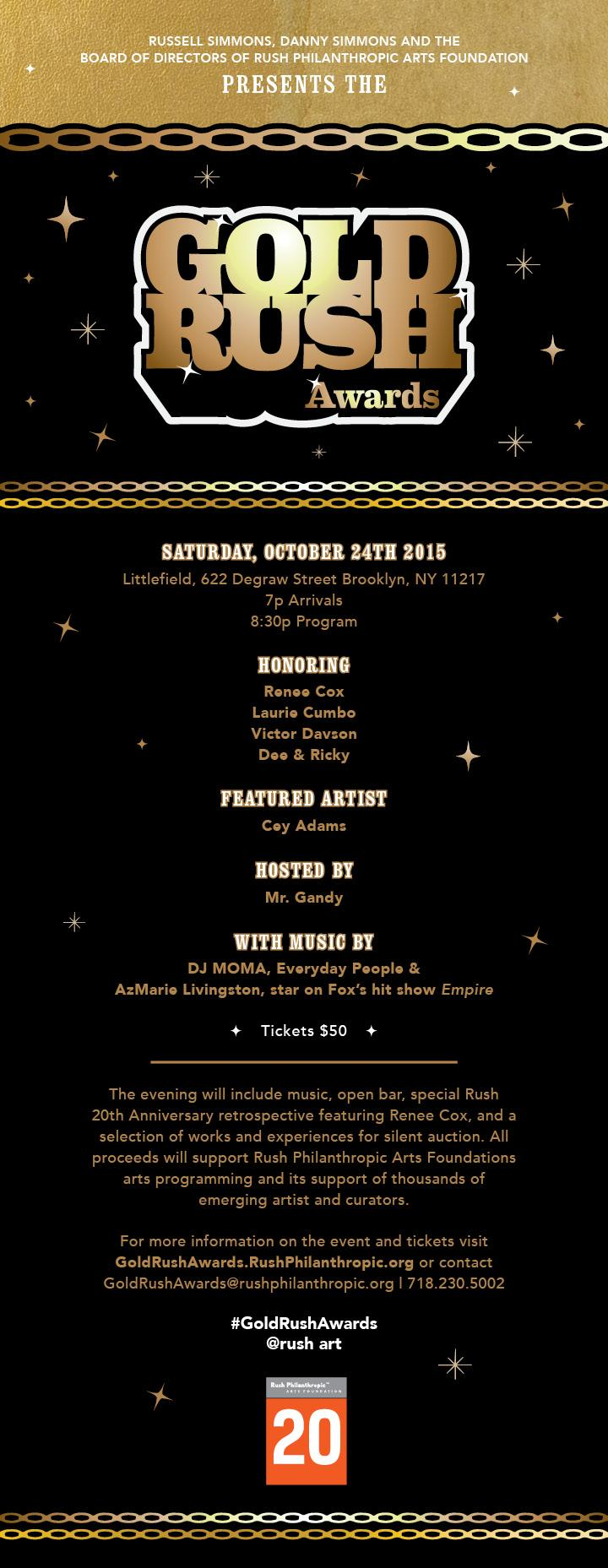 RT @rush_art: #SaveTheDate! So excited for #GoldRushAwards Oct. 24th! @littlefieldnyc, http://t.co/uGVGv30wJ5, Get your tix now! http://t.c…