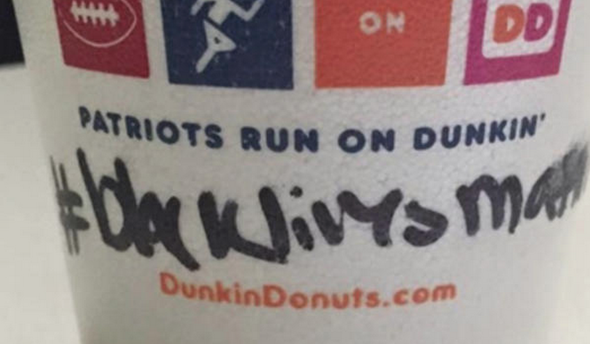 Dunkin' Donuts runs on cop hatred