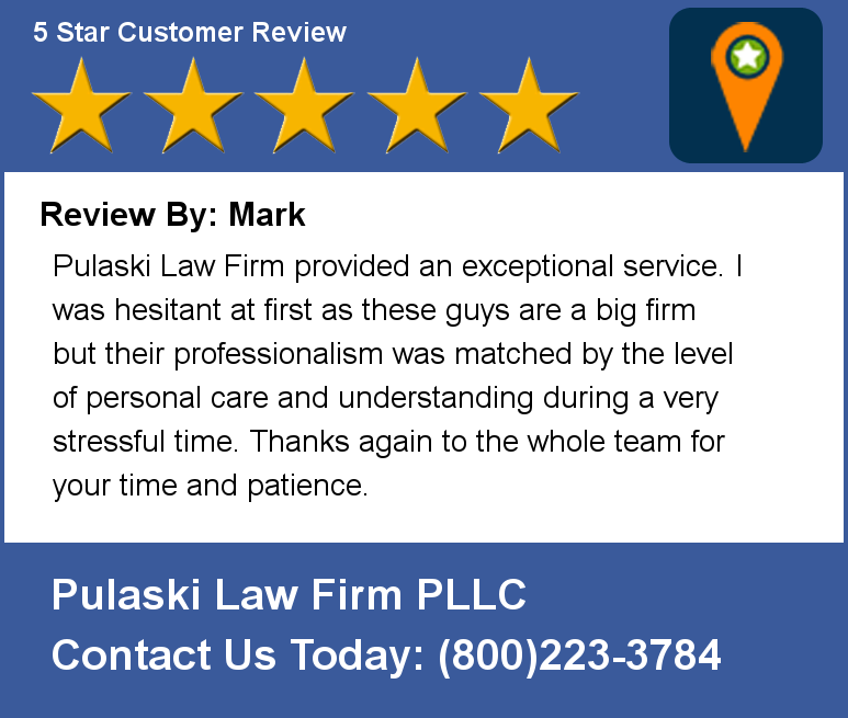 Pulaski Law Firm >> Pulaski Law Firm On Twitter Review By Mark Pulaski Law