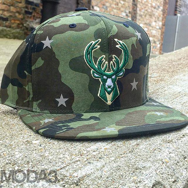 Check out this dope, rip-stop nylon, camo @Bucks snapback from the fall #Mitchell&Ness drop - $30 #bucks #fearthedeer http://t.co/m7bk3uXPSN