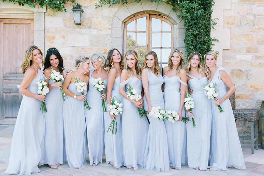 Amsale Bridesmaids On Twitter Timeless AmsaleBridesmaids In Ice Chiffon