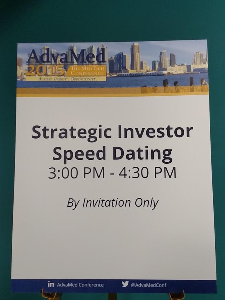 Speed dating invitationer