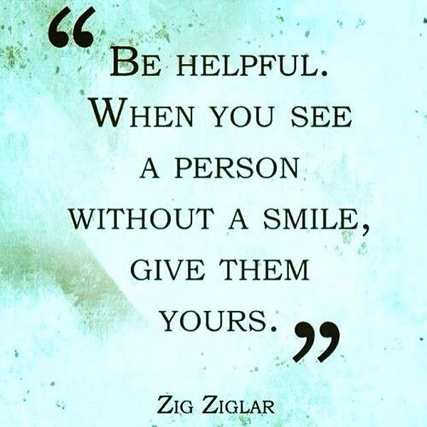 A wonderful way to be helpful! It's amazing what a smile can do.... #kindness #smiles #life http://t.co/J1DyuDsOiO