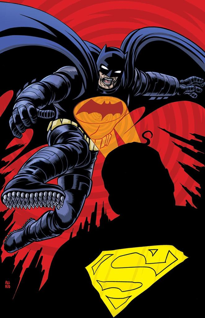 Check out our exclusive cover of Batman Dark Knight III, Issue 1, by Mike Allred @AllredMD #DKIII http://t.co/k52qQNigtT