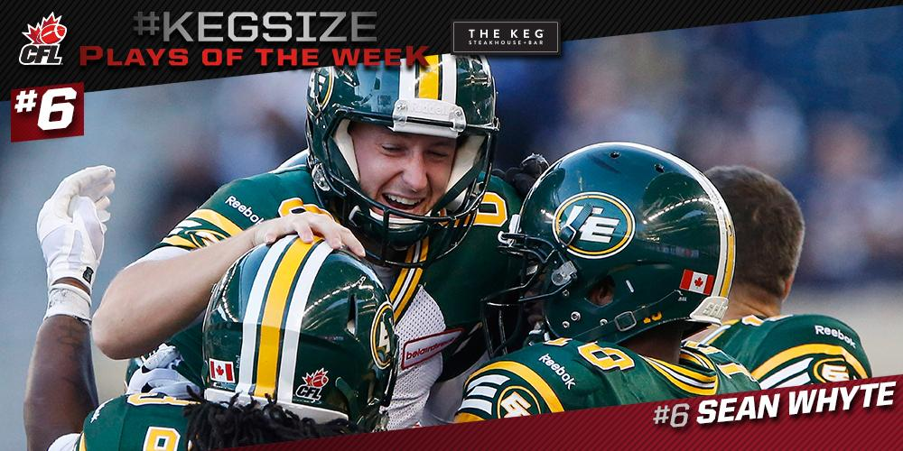 Twitter post: RT @CFL: Kick a Game-Winning FG like @SeanWhyte6?…Read more. Opens full post in an overlay
