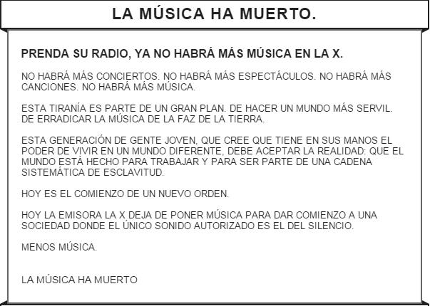 LA MÚSICA HA MUERTO http://t.co/HDgs6wqjvD