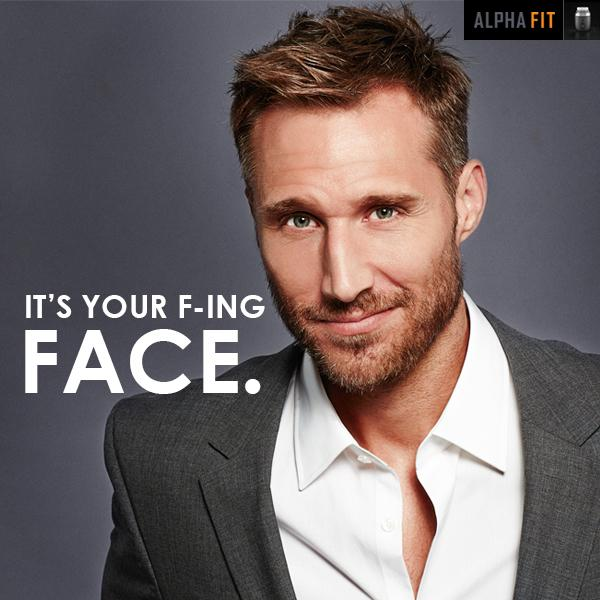 'It's Your F-ing Face' campaign for $189 sonic cleanser is too risque for Facebook. http://t.co/IBJnzmFNm2 http://t.co/xrt1ThugMj