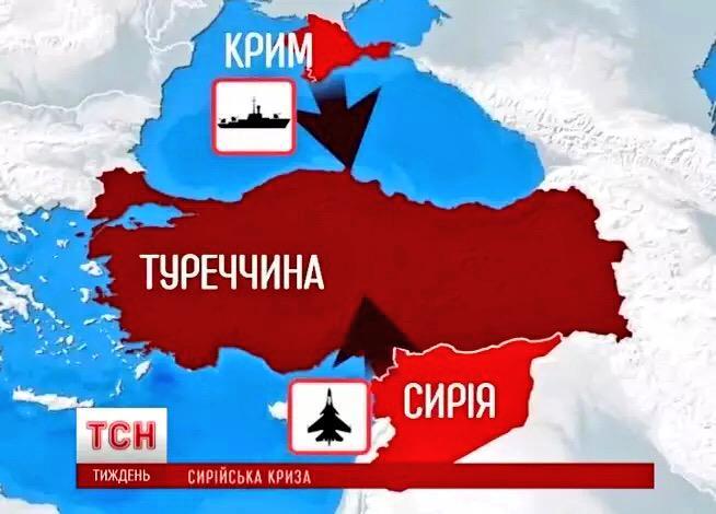 зависимости времени украинские сми по сирии стоит