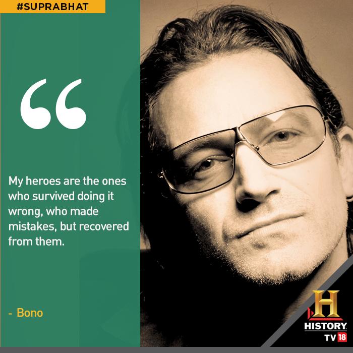 Bono Quotes: #suprabhat #motivation #quote #bono