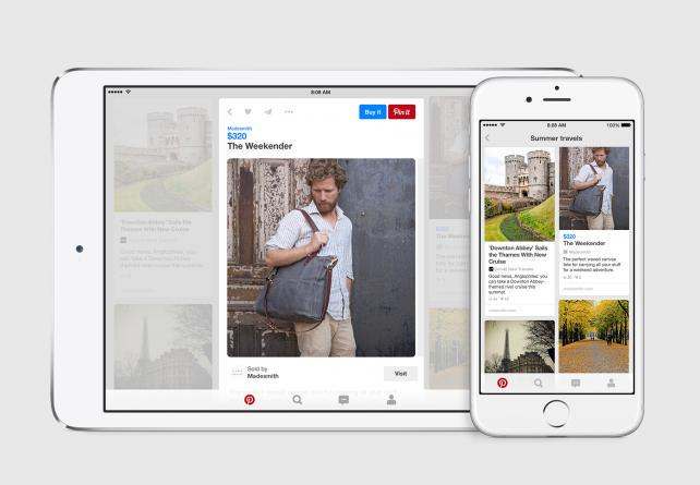 Buy pins on Pinterest have doubled to 60 million, platform makes it even easier for marketers http://t.co/MZFUwiQxZ3 http://t.co/VtCXaVLv6B
