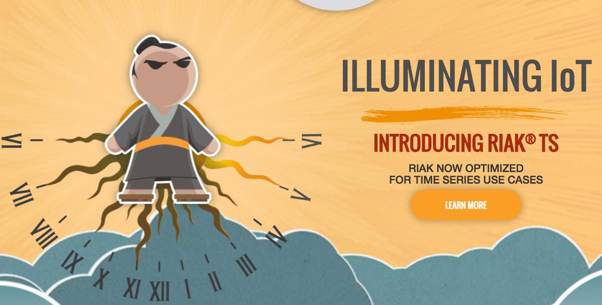 Basho has optimized Riak for Time Series - launches Riak TS! #awsreinvent http://t.co/MM2C8dbnkB http://t.co/ltpXUDmnE1