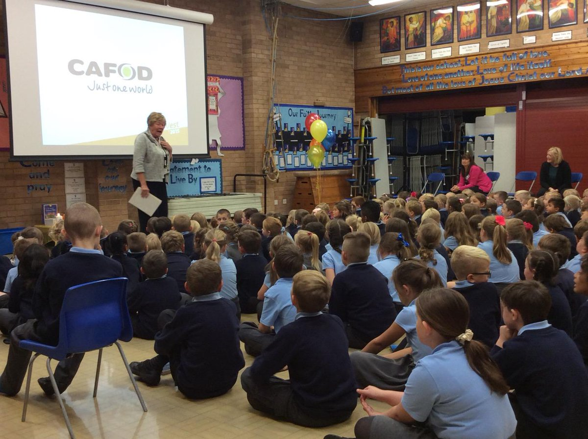 Learning all about CAFOD in assembly.