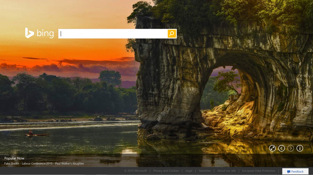 """Bing UK On Twitter: """"'Elephant Trunk Hill' And 'Water-Moon"""
