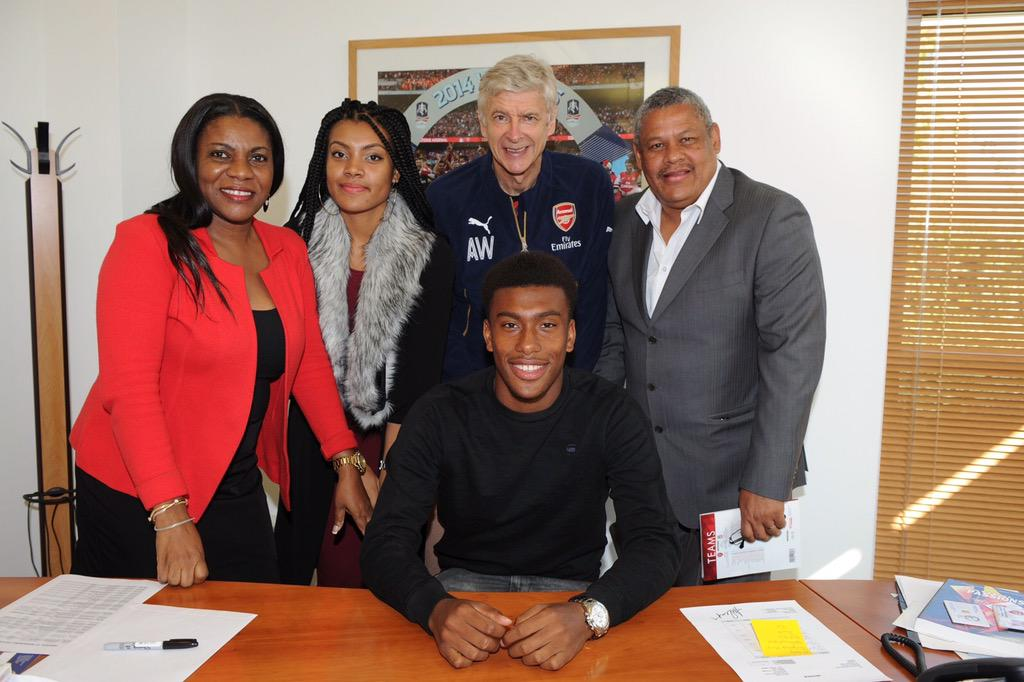 Image result for Alex Iwobi and family