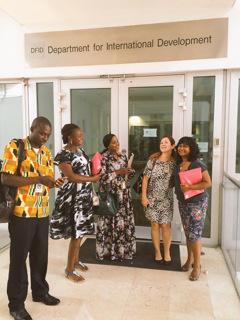 Team @RestlessDev hit the @DFID_UK offices in #Tanzania - great discussion on how to prioritise youth #WeAreRestless http://t.co/5m5KbVWqFZ