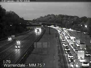 Breaking Accident South Warrendale exit Cranberry Turnpike WTAE